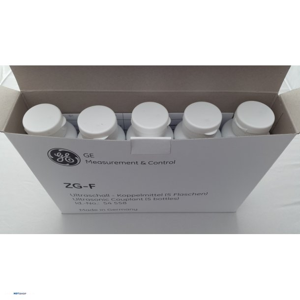 ZG-F Ultrasonic coupling gel (5 x 250ml)