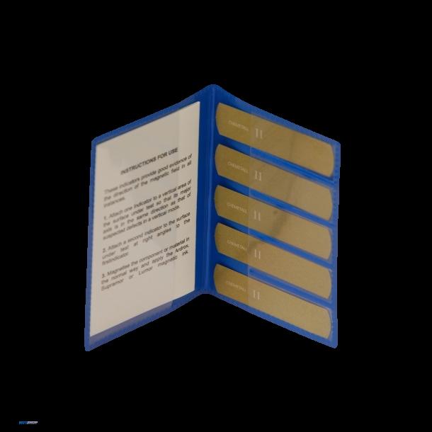 5 pcs. Magnetic Flux Indicator Type I (Castrol strips type (G)eneral)